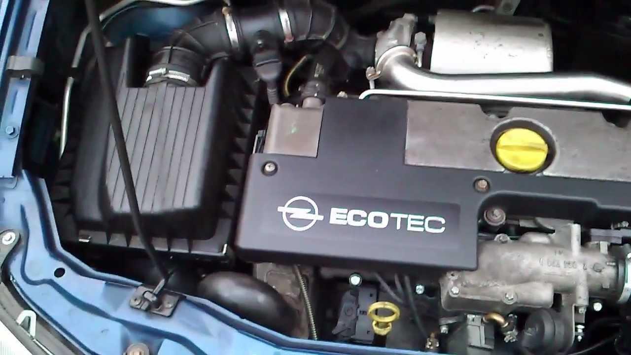 motor opel zafira 2.0