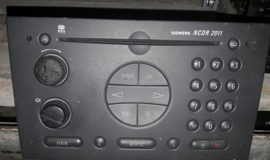 cd player opel
